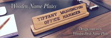 desk name signs designing inspiration 3393