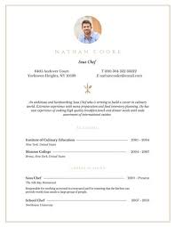 Breakfast Cook Resume Professional Sous Chef Resume Templates By Canva