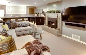 Basement Living Room Basement Finishing Ideas In Modern Decor Inspirationseek Com