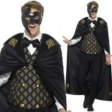 Halloween Costumes Phantom Opera Mens Masquerade Costumes Ebay