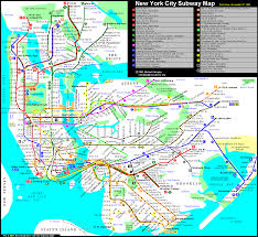 New York Submay Map by Calcagno 1995 11 27 Gif