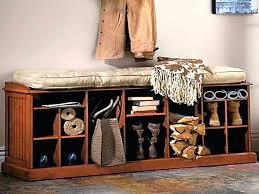 Diy Storage Ottoman Plans Shoe Storage Bench Ideas Entry Bench With Shoe Storage Plans