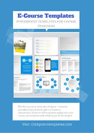 e course powerpoint templates for online course designers