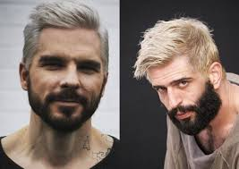 hair middle aged man dark platinum blonde men s hairstyles to be the trend hairdrome com