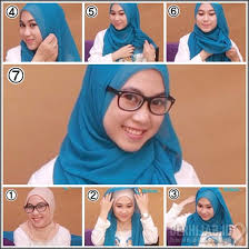 tutorial hijab segitiga paris simple tutorial jilbab segi empat buat kuliah simpel tutorial hijab dan