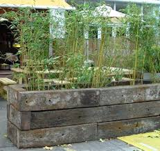 Railway Sleepers Garden Ideas Railway Sleepers Garden Ideas Garden State Plaza Restaurants