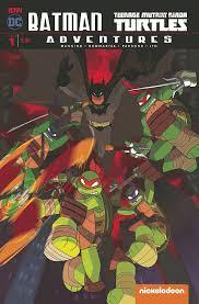 batman tmnt adventures sells 2nd print 2 weeks