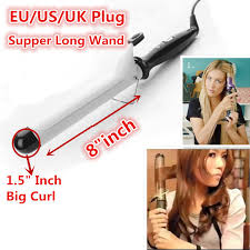 one inch hair styles 1 5 inch curling wand hair styling tools tourmaline ceramic