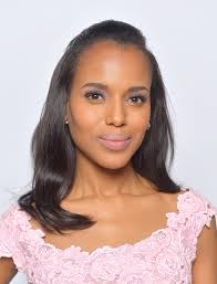 kerry washington long straight cut kerry washington long