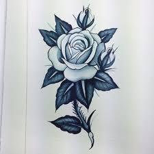 thorn stem rose tattoo design best tattoo designs