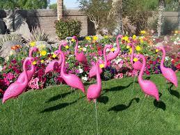 pink plastic flamingos and skelemingos make great gifts