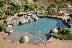 freeform pool riverside natural pool escondido lake forest