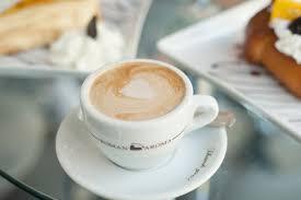 espresso macchiato roman aroma gran café to celebrate grand opening south bay by jackie