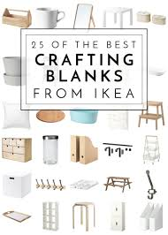 learn a few tricks from the new ikea catalog 25 of the best crafting blanks from ikea the homes i have made