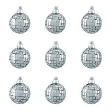 northlight mirrored glass disco ornament reviews