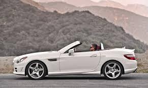 mercedes slk mercedes slk class convertible models price specs reviews