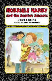 horrible harry and the scarlet scissors suzy wummer