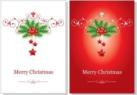 christmas card templates for free download