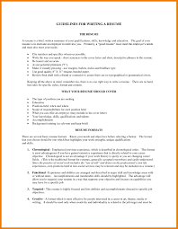 guidelines for what to include in a resume skills summary for guidelines for writing resume popular resume