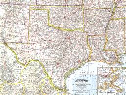 map us south south central united states map