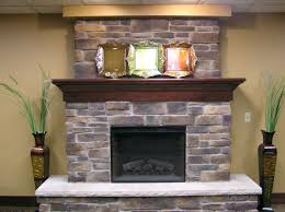 updating stone fireplace stones and glass faux calgary gas