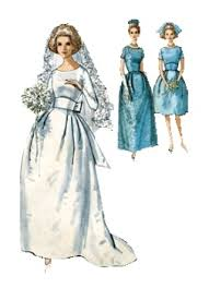 wedding dress sewing patterns 1963 wedding dress picture of and sewing bridal
