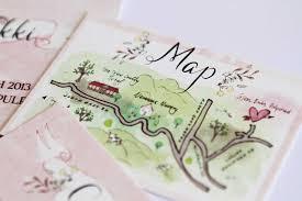 Popular Personal Wedding Invitation Cards 5 Wedding Invitations With Personalized Wedding Maps Gourmet
