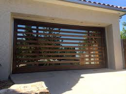 Mid Century Modern Window Trim by Designer Garage Door Modern Designer Garage Doors Residential