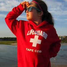 cape cod lifeguard hoodie sweatshirt kids
