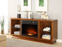 homelegance crystal tv stand with electric fireplace 8104 f102