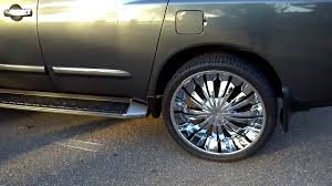 nissan armada with black rims 2005 nissan armada on 26