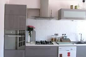 decoration cuisine avec faience credence metro beautiful great best carrelage matro blanc dans la