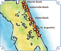 St Augustine Florida Map by Explore The A1a Cocktail Trail And Shine Like A Local