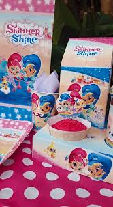 personalized party supplies shimmer shine party supplies