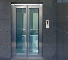 steel frame glass doors automatic elevators ss glass door big frame passenger lifts