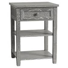 girls white bedside table bedside tables nightstands for teens pbteen