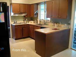 should i paint my dark kitchen cabinets apartment therapy