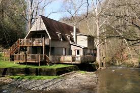 chalet homes brook trout chalet 2 bedrooms on the water tub grill