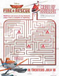 image planes fire and rescue maze of courage samoloty 2 plakat
