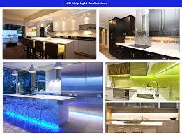 led strip lights kitchen led semi encapsulated strip