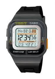 Jam Tangan Casio Karet jual casio casio digital jam tangan wanita hitam karet