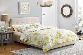 Linen Bed Amazon Com Dhp Platform Bed Rose Linen Tufted Upholstered
