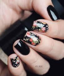 Black Manicure Designs 20 Nail Designs 2018 Pretty Designs