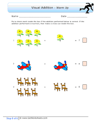 first grade step 6 example