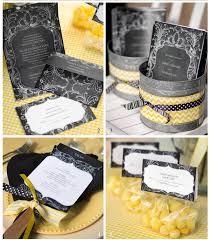 Chalkboard Wedding Programs Chalkboard Wedding Theme With Yellow Accents