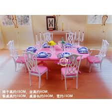 barbie dining room miniature furniture my fancy life dining room 2 for barbie doll