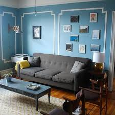 Teal Color Sofa by Charcoal Gray Sofa Design Ideas