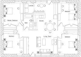 Breeze House Floor Plan Floor Plan Earthbag House Plans