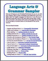 ged language arts worksheets free worksheets library download