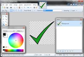 making bitmap images transparent using paint net technical